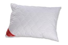 Badenia Bettcomfort 03772030115 Kissen Trendline Micro Kochfest 60 x 80 cm, weiß - 1