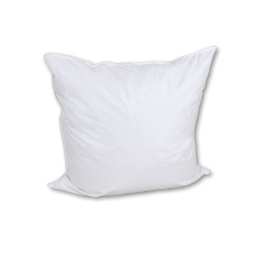 Betten-Anne Kopfkissen 80x80 cm weiße deutsche Gänsedaunen 60% Premium - 1