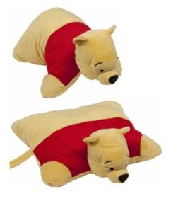 """Disney Winnie the Pooh 18"""" KuscheltierKissen Winnie Plüschtier Kuschelkissen 40 cm 2in1 Animal Pets Pillow - 1"""